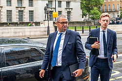 James Cleverly, Tory party chairman arriving at the Cabinet Office.<br /> <br /> Richard Hancox | EEm 30072019