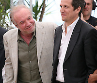 Actor James Caan.and Director Guillaume Canet.at the Blood Ties film photocall at the Cannes Film Festival Monday 20th May 2013