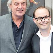 NLD/Amsterdam/20150620- Filmpremiere Code M, Derek de Lint en Dennis Bots