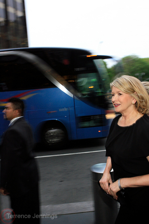 Martha Stewart at Time's 100 Most Influential People in the World hels at Jazz at lincoln Center on May 8, 2008..The Time 100 is not a ist of the smartest, most powerful, or the most talented, but it is a thoughtful and sprightly survey of the most influential individuals in the world. The list is divided into five subsections: Leaders & Revolutionaries; Builders & Titans; Artists & Entertainers; Scientists & Thinkers; and Heroes and Pioneers