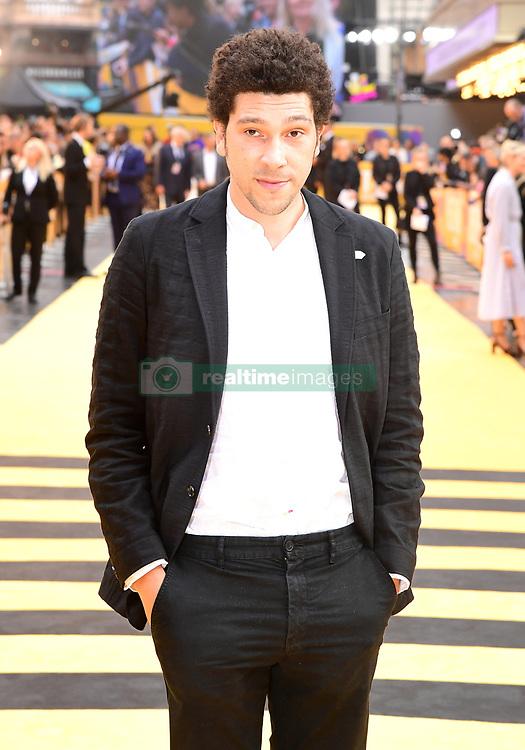 Joel Fry attending the Yesterday UK Premiere held in London, UK.