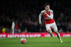 Hector Bellerin of Arsenal - Mandatory byline: Jason Brown/JMP - 07966386802 - 09/01/2016 - FOOTBALL - Emirates Stadium - London, England - Arsenal v Sunderland - The Emirates FA Cup