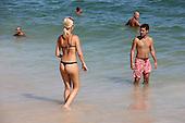 Summer in Leblon Beach, Rio de Janeiro