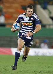 Peter Grant sets off on a run during the Super Rugby (Super 15) fixture between the DHL Stormers and the Highlanders held at DHL Newlands Stadium in Cape Town, South Africa on 11 March 2011. Photo by Jacques Rossouw/SPORTZPICS