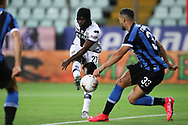 Parma Calcio's Ivorian striker Gervinho scores to give the side a 1-0 lead during the Serie A match at Stadio Ennio Tardini, Parma. Picture date: 28th June 2020. Picture credit should read: Jonathan Moscrop/Sportimage