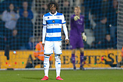 Queens Park Rangers midfielder Eberechi Eze (10) during The FA Cup match between Queens Park Rangers and Sheffield Wednesday at the Kiyan Prince Foundation Stadium, London, England on 24 January 2020.