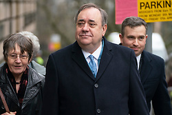 Edinburgh, Scotland, UK. 10 March, 2020.  Alex Salmond appears at High Court in Edinburgh second day of his trial. He is accused of various sexual offences all of which he denies. Iain Masterton/Alamy Live News