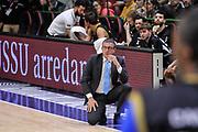 DESCRIZIONE : Campionato 2014/15 Serie A Beko Dinamo Banco di Sardegna Sassari - Upea Capo D'Orlando<br /> GIOCATORE : Giulio Griccioli<br /> CATEGORIA : Allenatore Coach<br /> SQUADRA : Upea Capo D'Orlando<br /> EVENTO : LegaBasket Serie A Beko 2014/2015<br /> GARA : Dinamo Banco di Sardegna Sassari - Upea Capo D'Orlando<br /> DATA : 22/03/2015<br /> SPORT : Pallacanestro <br /> AUTORE : Agenzia Ciamillo-Castoria/L.Canu<br /> Galleria : LegaBasket Serie A Beko 2014/2015
