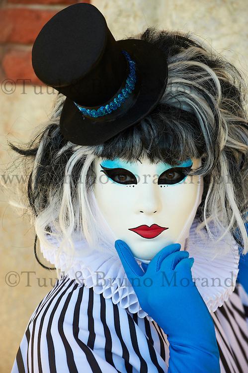 Italie, Venetie, Venise, classee Patrimoine Mondial de  l UNESCO, le carnaval // Italy, Veneto, Venice, Carnival