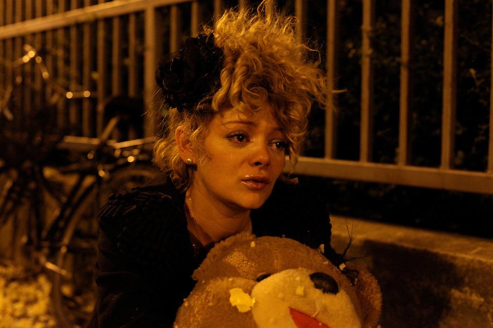 Sidewalk tears 5, Paris