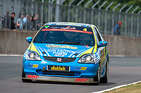 #4 Martin DALZELL Honda Civic EP3  during Cox Motor Parts Civic Cup  as part of the BRSCC NW Mazda Race Day  at Oulton Park, Little Budworth, Cheshire, United Kingdom. June 16 2018. World Copyright Peter Taylor/PSP. Copy of publication required for printed pictures. http://archive.petertaylor-photographic.co.uk
