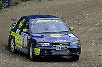 Mobil 1/RAC British Rally Championship 1997. RSAC Scottish Rally. David Mann / Ian Wray. Proton Wira / Persona. World Copyright: Peter Taylor/PSP. Copy of publication required for printed pictures. Every used picture is fee-liable..