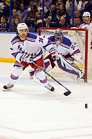 Ishockey<br /> NHL<br /> Foto: imago/Digitalsport<br /> NORWAY ONLY<br /> <br /> 9 October 2014: New York Rangers right wing Mats Zuccarello (36) goes for the puck during the first period of a NHL Eishockey Herren USA hockey game against the St. Louis Blues at the Scottrade Center in St. Louis, Missouri