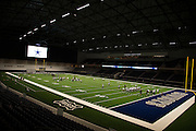 "The Dallas Cowboys practice in The Ford Center at The Star in Frisco, Texas on August 23, 2016. The Cowboys will share The Ford Center with Frisco ISD for various school functions and sporting events. ""CREDIT: Cooper Neill for The Wall Street Journal""<br /> TX HS Football sponsorships"