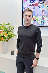 JAKE ROSENBERG at a London Fashion Week Party hosted by rewardStyle at IceTank, 5 Grape Street, London on 21st February 2016.