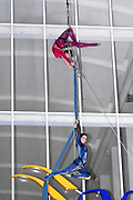 Outdoor Trapeze performance