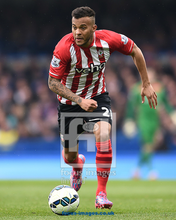 Ryan Bertrand of Southampton during the Barclays Premier League match against Chelsea at Stamford Bridge, London<br /> Picture by Andrew Timms/Focus Images Ltd +44 7917 236526<br /> 15/03/2015