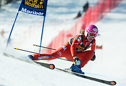 FANCHINI Nadia (ITA)competes during 5th Ladies' Giant slalom at 51st Golden Fox of Audi FIS Ski World Cup 2014/15, on February 21, 2015 in Pohorje, Maribor, Slovenia. Photo by Vid Ponikvar / Sportida