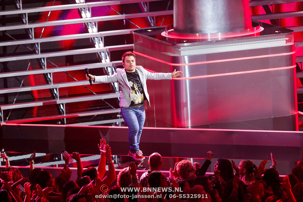 NLD/Hilversum/20121123 - 3de liveshow The Voice of Holland,