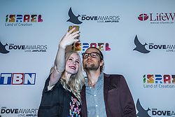 October 11, 2016 - Nashville, Tennessee, USA - Bryan and Lacie Fowler at the 47th Annual GMA Dove Awards  in Nashville, TN at Allen Arena on the campus of Lipscomb University.  The GMA Dove Awards is an awards show produced by the Gospel Music Association. (Credit Image: © Jason Walle via ZUMA Wire)