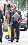 Andrew Marr Show arrivals <br /> at BBC Broadcasting House, London, Great Britain <br /> 18th September 2016 <br /> <br /> <br /> <br /> <br /> Nigel Farage MEP <br /> ex-leader of UKIP <br /> arriving to read the papers on the Marr show <br /> <br /> <br /> <br /> Photograph by Elliott Franks <br /> Image licensed to Elliott Franks Photography Services