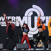 Power of Muzik perform live at Kew The Music Festival 2018 on 10th July 2018.