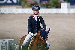Buijs Sanne, NED, Happy Feet<br /> European Championship Children, Juniors, Young Riders - Fontainebleau 1028<br /> © Hippo Foto - Dirk Caremans<br /> Buijs Sanne, NED, Happy Feet