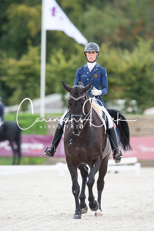 George Michele, (BEL), Sagaminne<br /> Grade IV Team Test<br /> Para-Dressage FEI European Championships Deauville 2015<br /> &copy; Hippo Foto - Jon Stroud<br /> 18/09/15