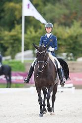 George Michele, (BEL), Sagaminne<br /> Grade IV Team Test<br /> Para-Dressage FEI European Championships Deauville 2015<br /> © Hippo Foto - Jon Stroud<br /> 18/09/15
