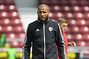 Sheffield United forward Leon Clarke (43) during the Pre-Season Friendly match between Northampton Town and Sheffield United at the PTS Academy Stadium, Northampton, England on 20 July 2019.