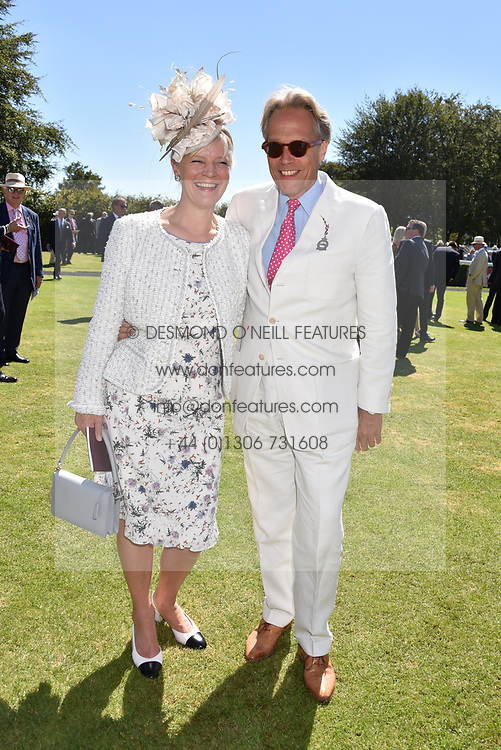 The Duke & Duchess of Richmond at the Qatar Goodwood Festival - Glorious Goodwood, Goodwood Racecourse, West Sussex 02 August 2018.