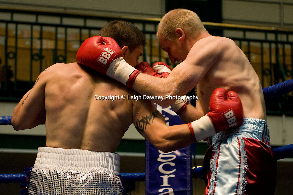 Daryl Setterfield v Kevin Lilley at York Hall 4th October 2009. Promoted by David Coldwell,Hayemaker Promotions Credit: ©Leigh Dawney Photography