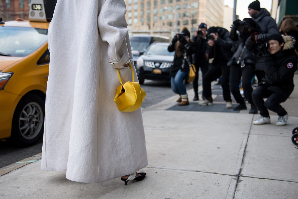 Gabriela Hearst Bag, Outside NYFW FW2018
