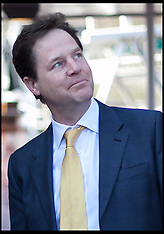 MAY 01 2013  Nick Clegg at Tattershall Castle