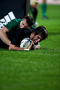 New Zealand All Blacks v Ireland rugby Internatioanl Test at Yarrow Stadium in New Plymouth, New Zealand. Saturday 12 June 2010.