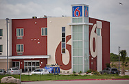 New Motel 6 in the Eagle Ford Shale region of Texas.