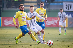 Pišek and Tomi Horvat during football match between NŠ Mura and NK Celje in 18th Round of Prva liga Telekom Slovenije 2018/19, on December 2, 2018 in Fazanerija, Murska Sobota, Slovenia. Photo by Blaž Weindorfer / Sportida