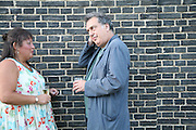 Stephen Frears, Launch of Tina Brown's book 'The Diana Chronicles' hosted by Reuters. Serpentine Gallery. 18 June 2007.  -DO NOT ARCHIVE-© Copyright Photograph by Dafydd Jones. 248 Clapham Rd. London SW9 0PZ. Tel 0207 820 0771. www.dafjones.com.