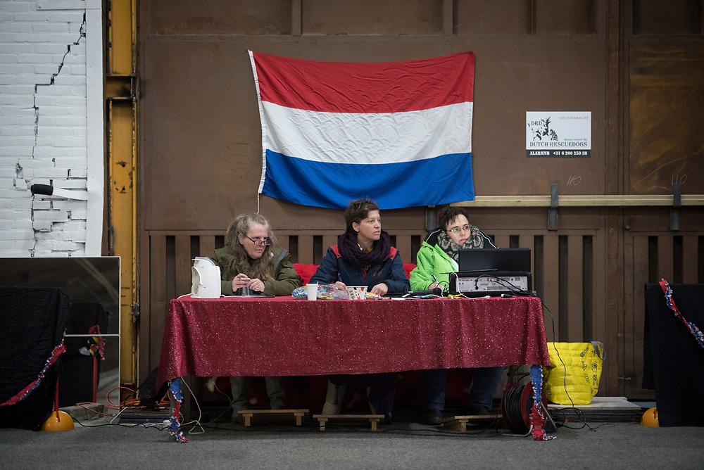 Foto: Gerrit de Heus. Veenoord. 03-12-2017. Nederlands Kampioenschap (NL) Dog Dance.