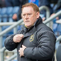 David Hopkin ( Livingston head coach ).Falkirk v Livingston, Ladbrokes Championship, 23rd September 2017. (c) Paul Cram | SportPix