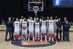 November 24, 2017 - Anvers, Belgique - ANTWERPEN, BELGIUM - NOVEMBER 24 : France Team during the First Round E FIBA World Cup China 2019 Qualifiers match between Belgium and France on November 24, 2017 in Antwerpen, Belgium, 24/11/2017 (Credit Image: © Panoramic via ZUMA Press)