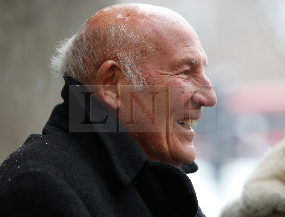 © Licensed to London News Pictures. 18/01/2013. London, U.K..Memorial service for Professor Sid Watkins, former FIA Formula One medical delegate, and crusader for motor sport safety, midday today (18/1/2013) at St.Marylebone Parish Church..Photo credit : Rich Bowen/LNP