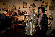 LAURA BAILEY; POPPY VALENTINE, FashionExpo, fashion show and Awards. Business Design Centre, Upper st. London. 19 November 2008.  *** Local Caption *** -DO NOT ARCHIVE -Copyright Photograph by Dafydd Jones. 248 Clapham Rd. London SW9 0PZ. Tel 0207 820 0771. www.dafjones.com