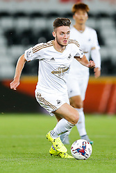 Matt Grimes of Swansea City in action - Mandatory byline: Rogan Thomson/JMP - 07966 386802 - 25/08/2015 - FOOTBALL - Liberty Stadium - Swansea, Wales - Swansea City v York City - Capital One Cup Second Round.