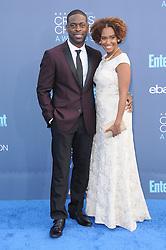Sterling K. Brown, Ryan Michelle Bathe  bei der Verleihung der 22. Critics' Choice Awards in Los Angeles / 111216