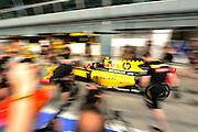 September 10-12, 2010: Italian Grand Prix. Renault Pitstop practice