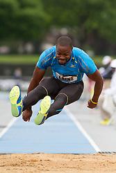 adidas Grand Prix Diamond League professional track & field meet: mens triple jump, Samyr LAINE, Haiti