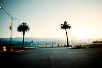 San Francisco as seen from Treasure Island in San Francisco Bay. Copyright 2013 Reid McNally.