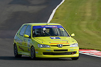 #72 Carl Chambers Peugeot 306 Rallye 1998 during the CSCC Tin Tops at Oulton Park, Little Budworth, Cheshire, United Kingdom. October 15 2016. World Copyright Peter Taylor/PSP. <br /> Copy of publication required for printed pictures.  Every used picture is fee-liable. http://archive.petertaylor-photographic.co.uk