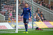 Jake Mulraney (#23) of Heart of Midlothian during the Ladbrokes Scottish Premiership match between Motherwell FC and Heart of Midlothian FC at Fir Park, Stadium, Motherwell, Scotland on 17 February 2019.